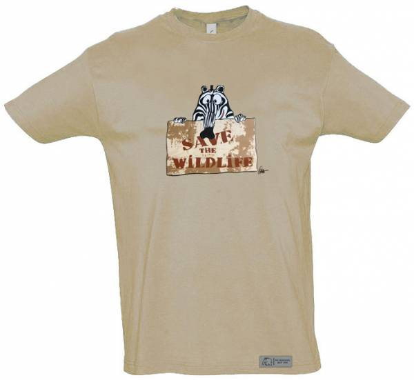 "T-Shirt ""Save the Wild Life"""