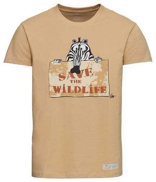 "T-Shirt ""Save the Wild Life"" by Otto Waalkes"