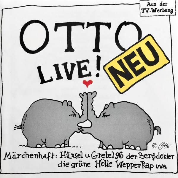Otto Waalkes - Otto Live! als Audio Download