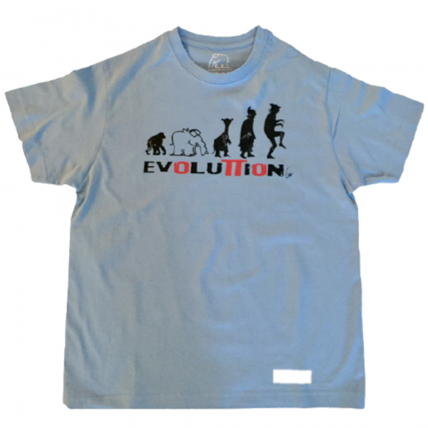 """T-Shirt """"Evolution"""" Kinder by Otto Waalkes"""