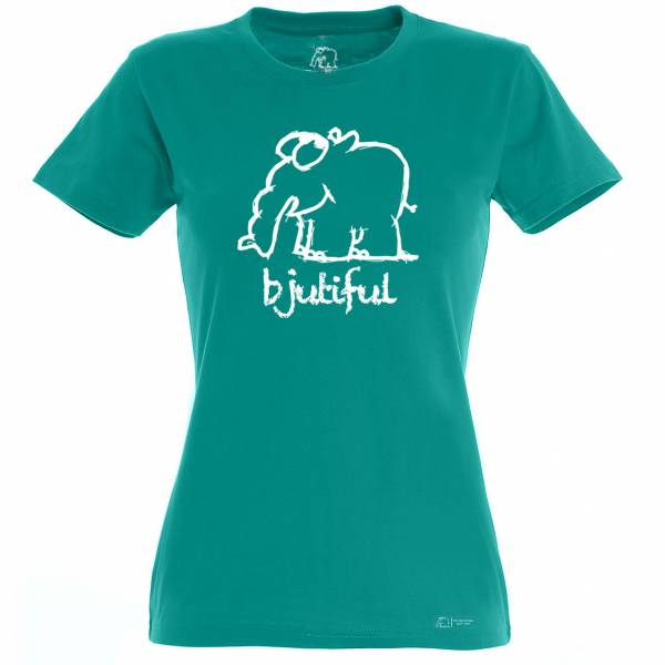 "Damen T-Shirt ""Bjutiful"""
