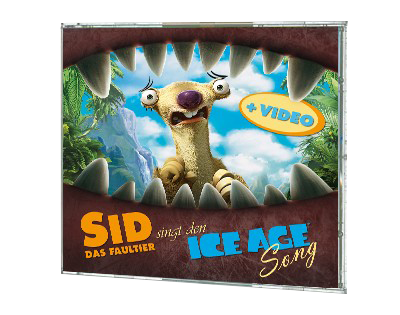 "CD Ice Age Single ""Sid singt"""