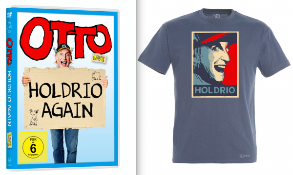 Holdrio Again Set: DVD und T-Shirt