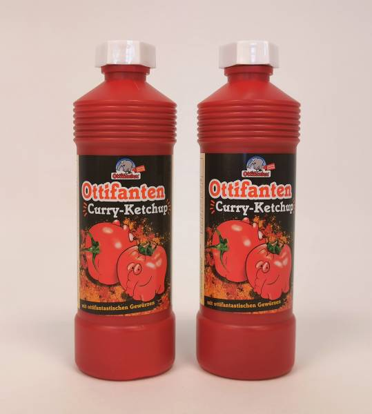 2x Ottifanten Curry Ketchup je 425ml by Otto Waalkes